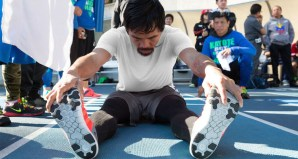 Check out Another Look Inside Manny Pacquiao's Training