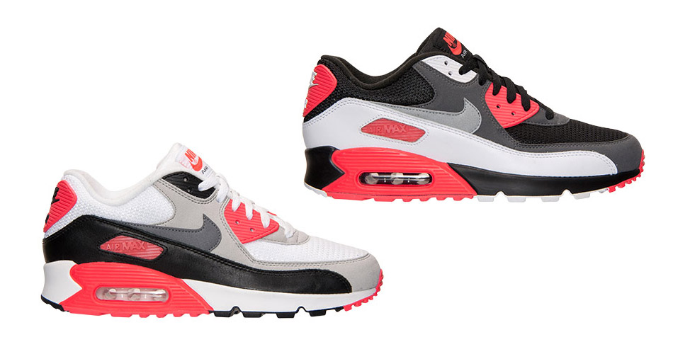 "hot sale online 2edb0 3ebce Links to Buy Nike Air Max 90 ""Infrared"" + ""Inverted Infrared"". May 16, 2015"