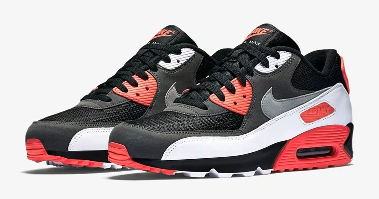 """buy popular dd25d 89944 Nike Air Max 90 """"Reverse Infrared"""" Is Available Now"""