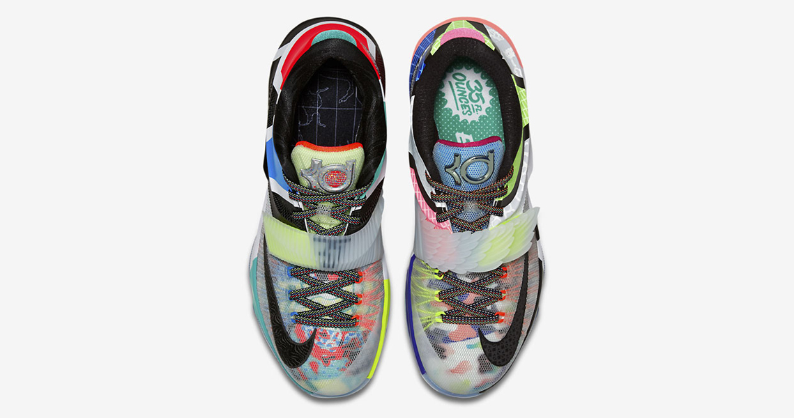 """pretty nice 537c7 01d1f First Look at the """"What The"""" Nike KD 7"""