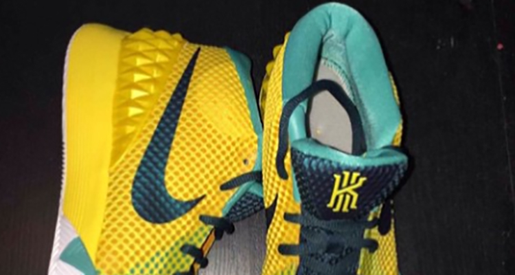 """premium selection 1a5cf e2018 Nike Kyrie 1 """"Tour Yellow"""" Gets a Release Date"""