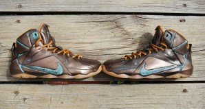 Nike LeBron 12 EXT LeBronze Custom by GourmetKickz
