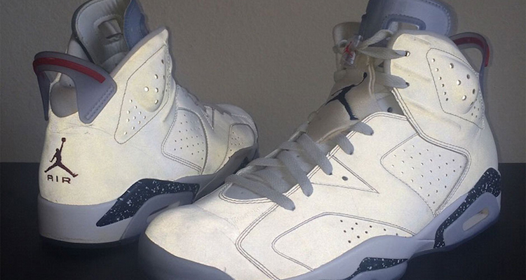 """newest 22191 fbd2c The Air Jordan 6 """"First Championship"""" PE is for Sale on eBay"""