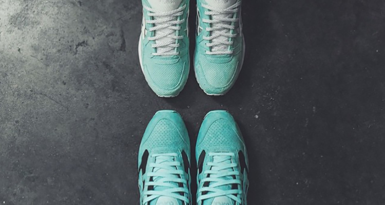 ronnie fieg x diamond supply co asics