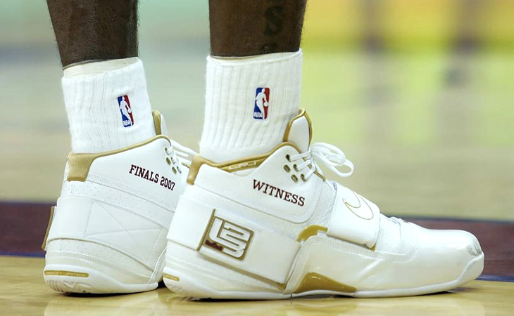 12b1b085e56 Kicks On Court Classic    All Of The Shoes LeBron James Has Worn In The NBA  Finals