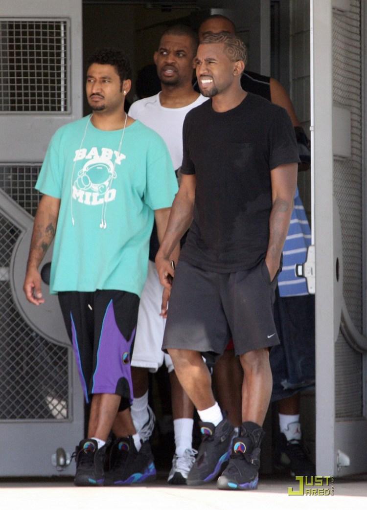 Kanye West Air Jordan 8