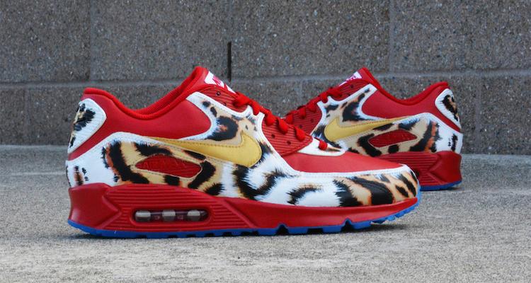 "brand new 261cb 840bd Nike Air Max 90 ""2K14"" Custom by Kendra s Customs"
