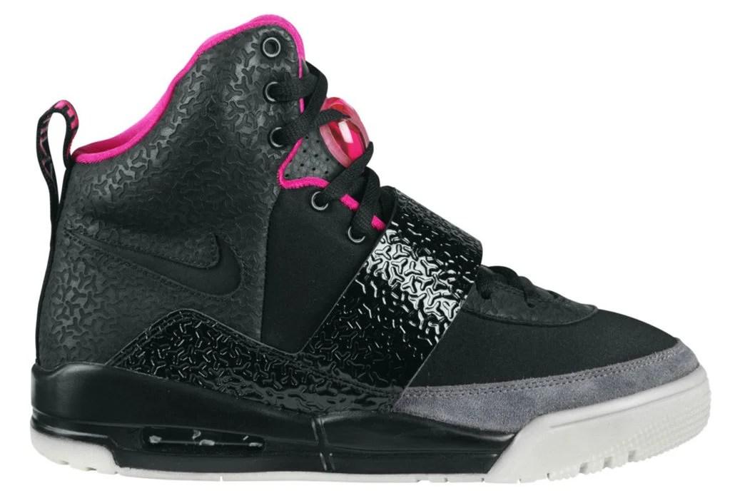 Nike Air Yeezy 1 Black Pink