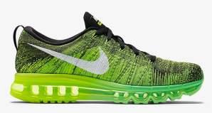 "faf0fe35cc49a Nike Flyknit Air Max ""Voltage Green"""