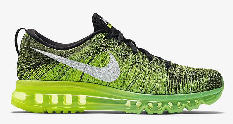 "new style a10a0 43560 Nike Flyknit Air Max ""Voltage Green"""