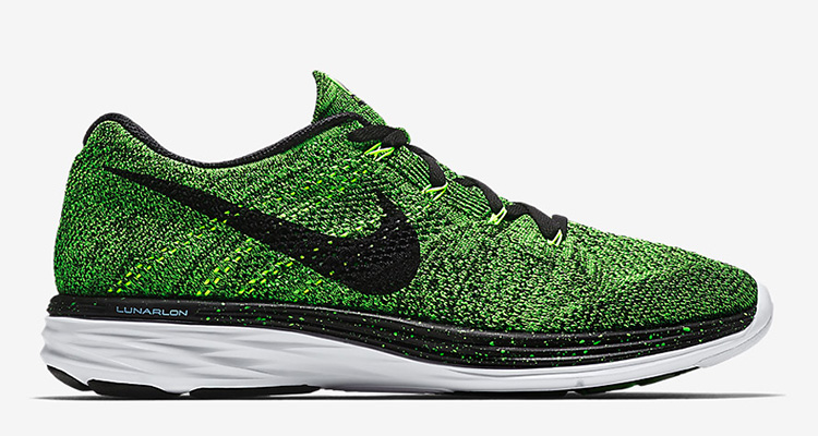 "promo code 0d366 675c9 ... Nike Flyknit Lunar 3 ""Electric Green"" ..."