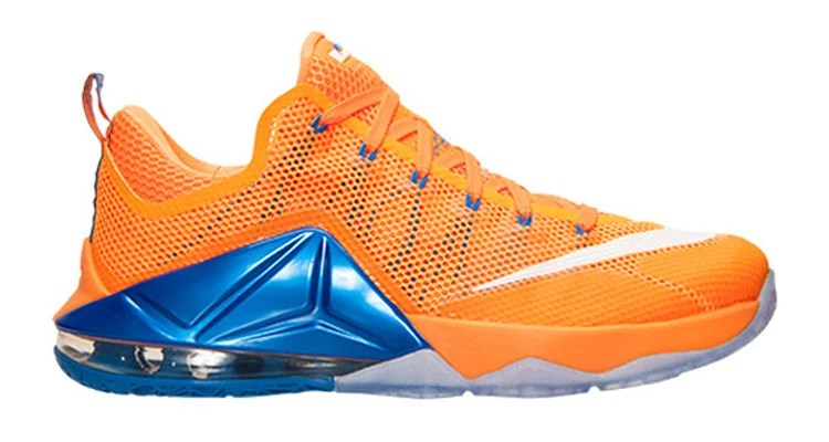 hot sale online 2d2e4 fe1b3 Is This Nike LeBron 12 Low a Knicks or Cavs Reference