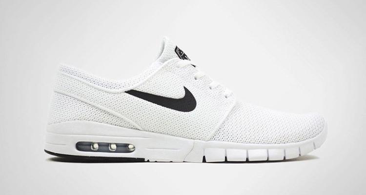 f676ba40c0bb Nike SB Stefan Janoski Max White Black