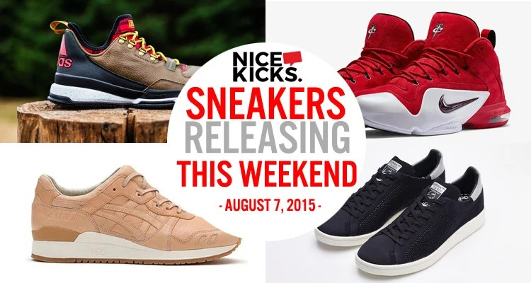 d87f5e5afeee Sneakers Releasing This Weekend    August 7