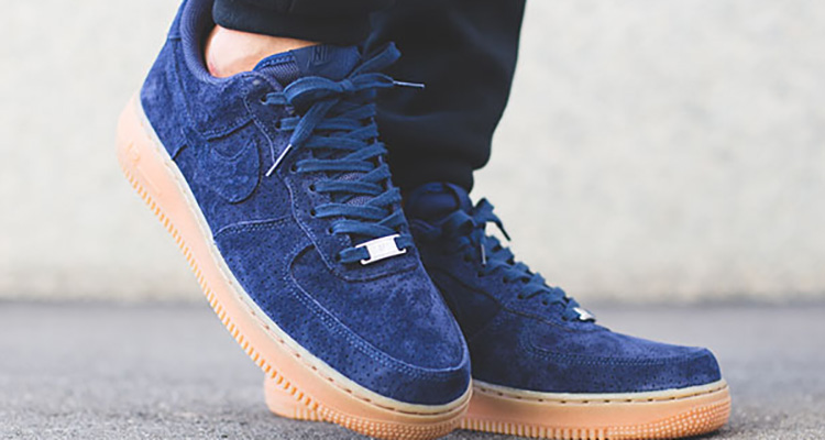 nike wmns air force 1 blue suede