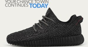 Win a Pair of adidas Yeezy Boost 350s