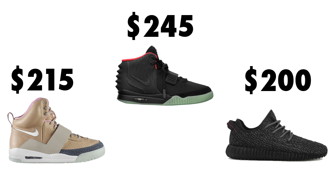best service e49d1 b8939 A Detailed Guide to Kanye West Collaborative Sneaker Pricing