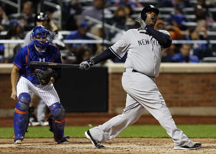 be3f89e086ca ... C.C. Sabathia in a Yankees PE of the Air Jordan 11