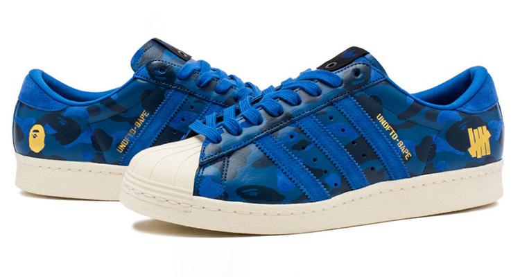 timeless design 53554 01e2f Another Bape x UNDFTD x adidas Superstar 80s Collab Drops Next Week