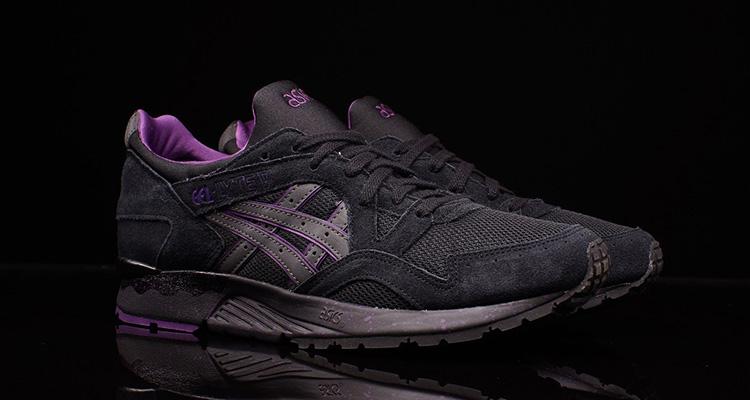 super popular official photos cheap price ASICS Gel Lyte V Black/Purple | Nice Kicks