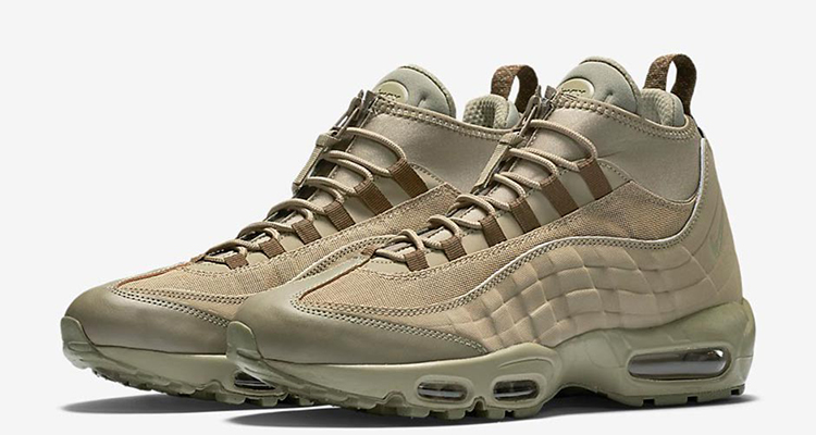 100d9227bfdf The Nike Air Max 95 Sneakerboot is Here