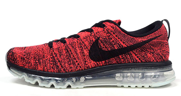 269576fd08efd First Look    Nike Flyknit Air Max Red Black