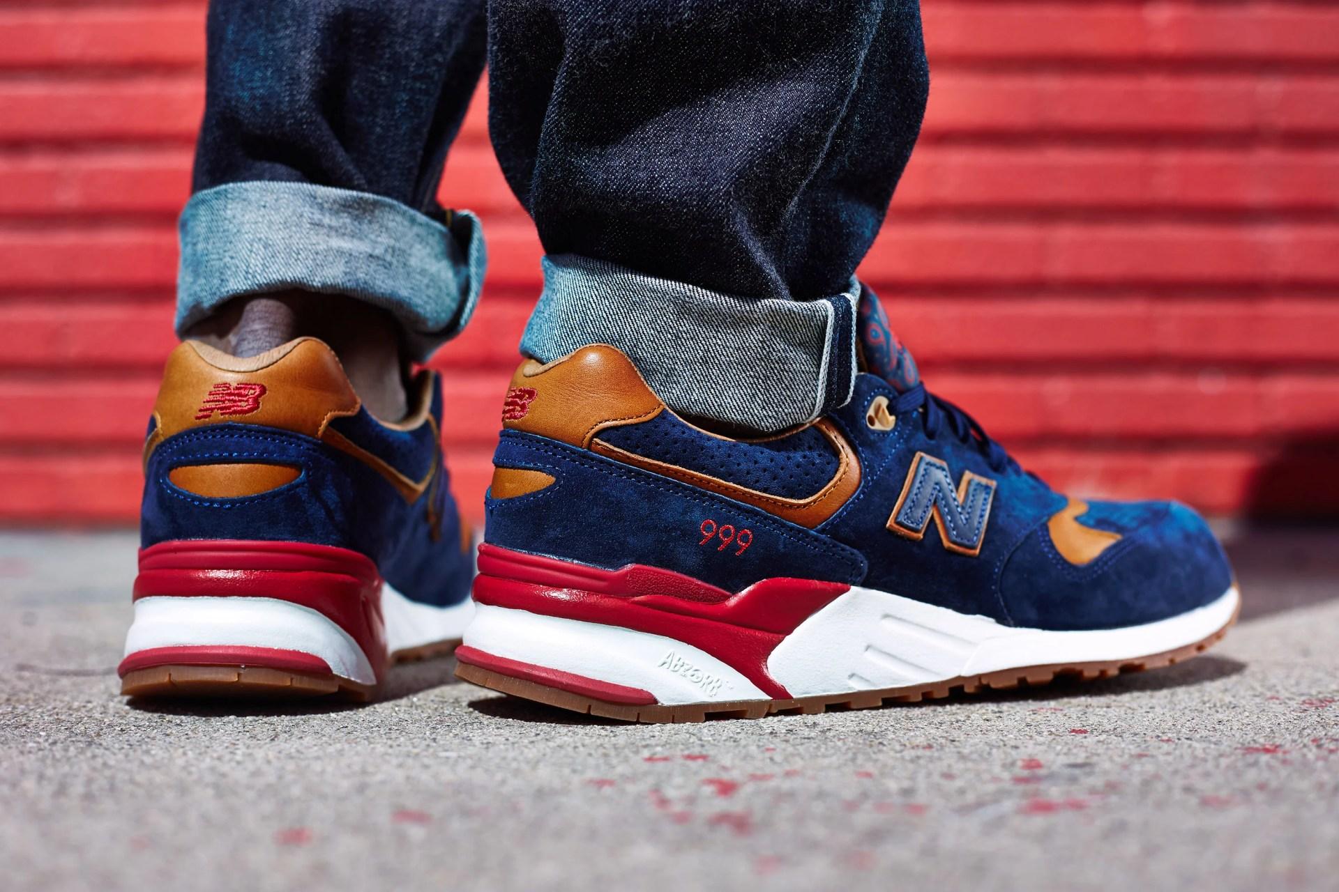 reputable site b74e8 c9d6c On-Foot Look // Sneaker Politics x New Balance 999 | Nice Kicks