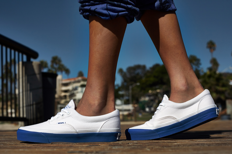 04e7b4bbdc On-Foot Look    WTAPS x Vans Era White Royal
