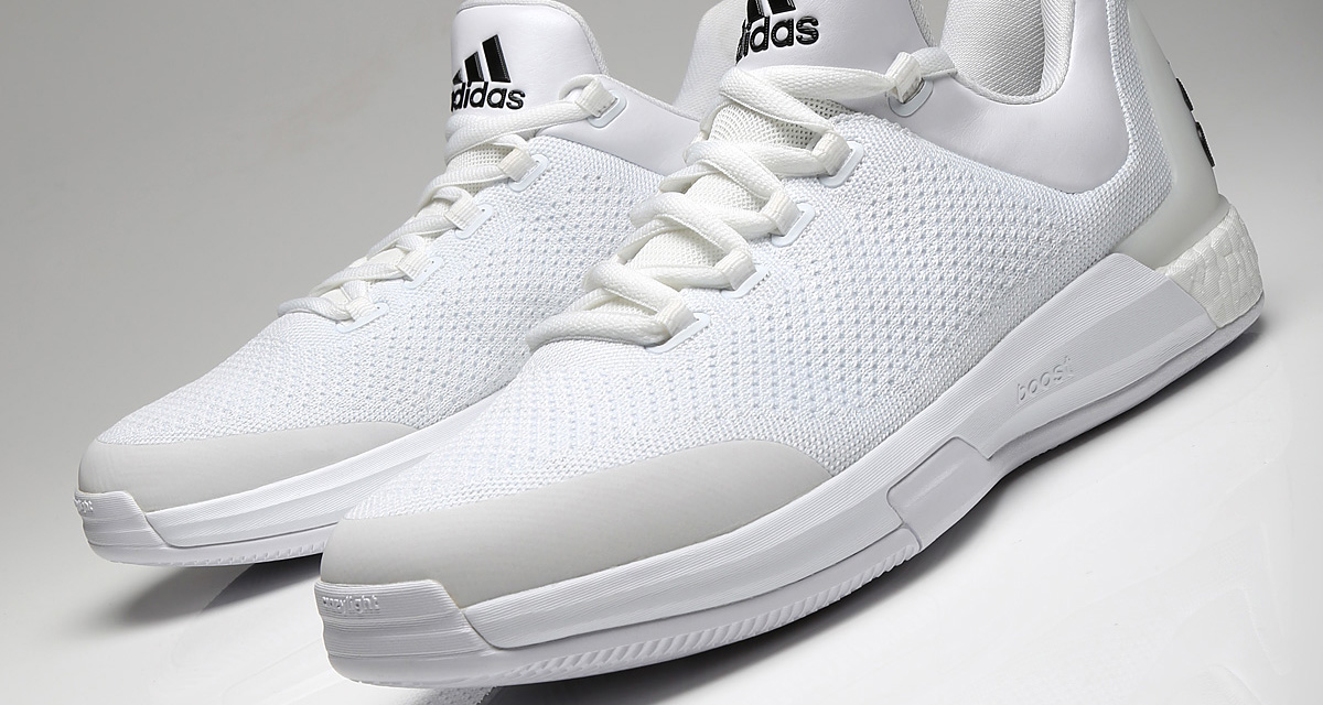 56bd45de2f6 PE Spotlight    James Harden s All-White adidas Crazy Light Boost PE ...