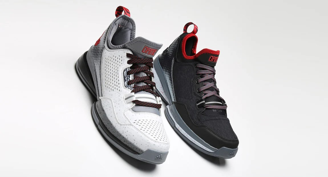 "sports shoes c00a0 0309c In Detail    The adidas D Lillard 1 ""Rip City""   ""Road"""