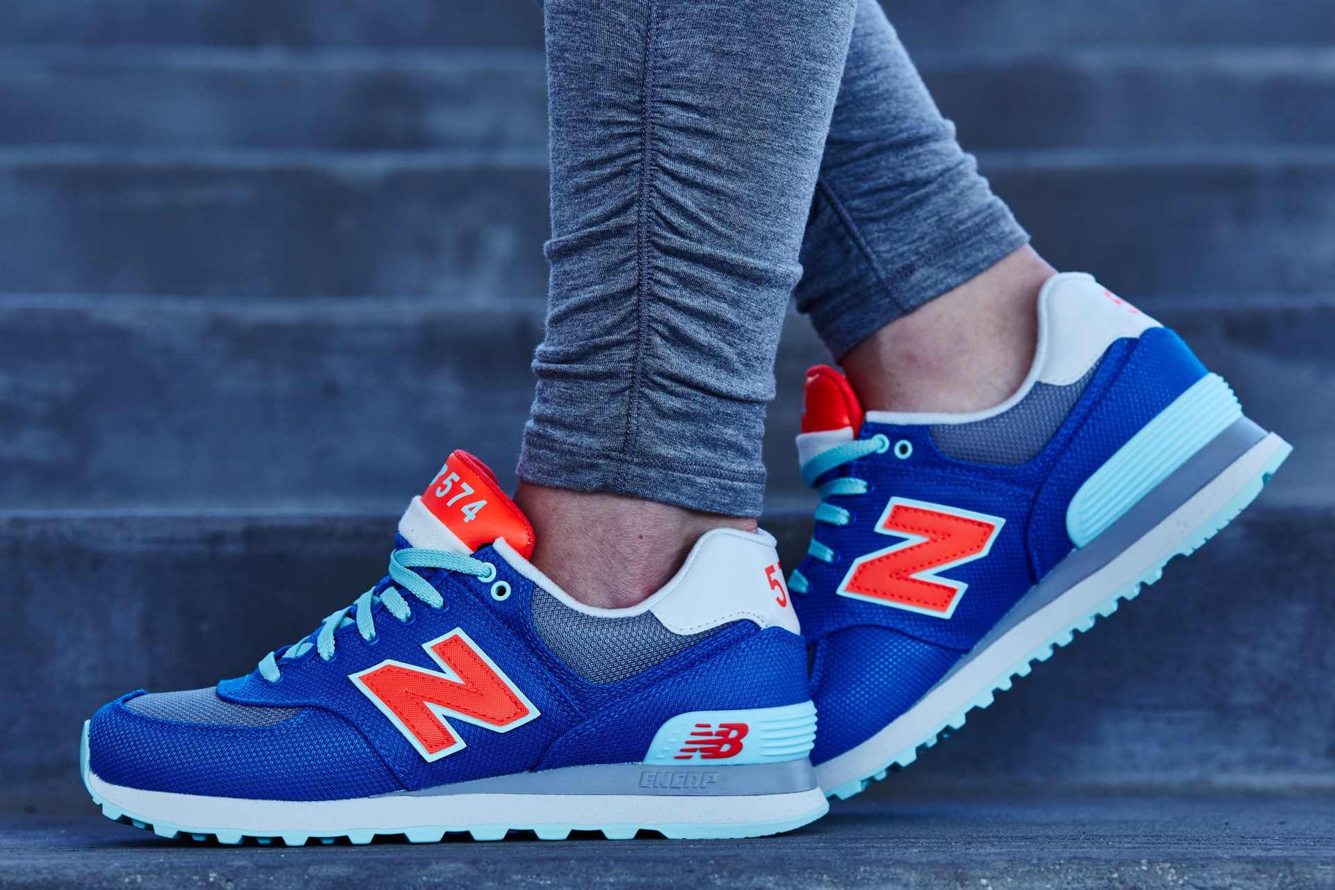 low priced bb4f4 a9a1b On-Foot Look // New Balance 574