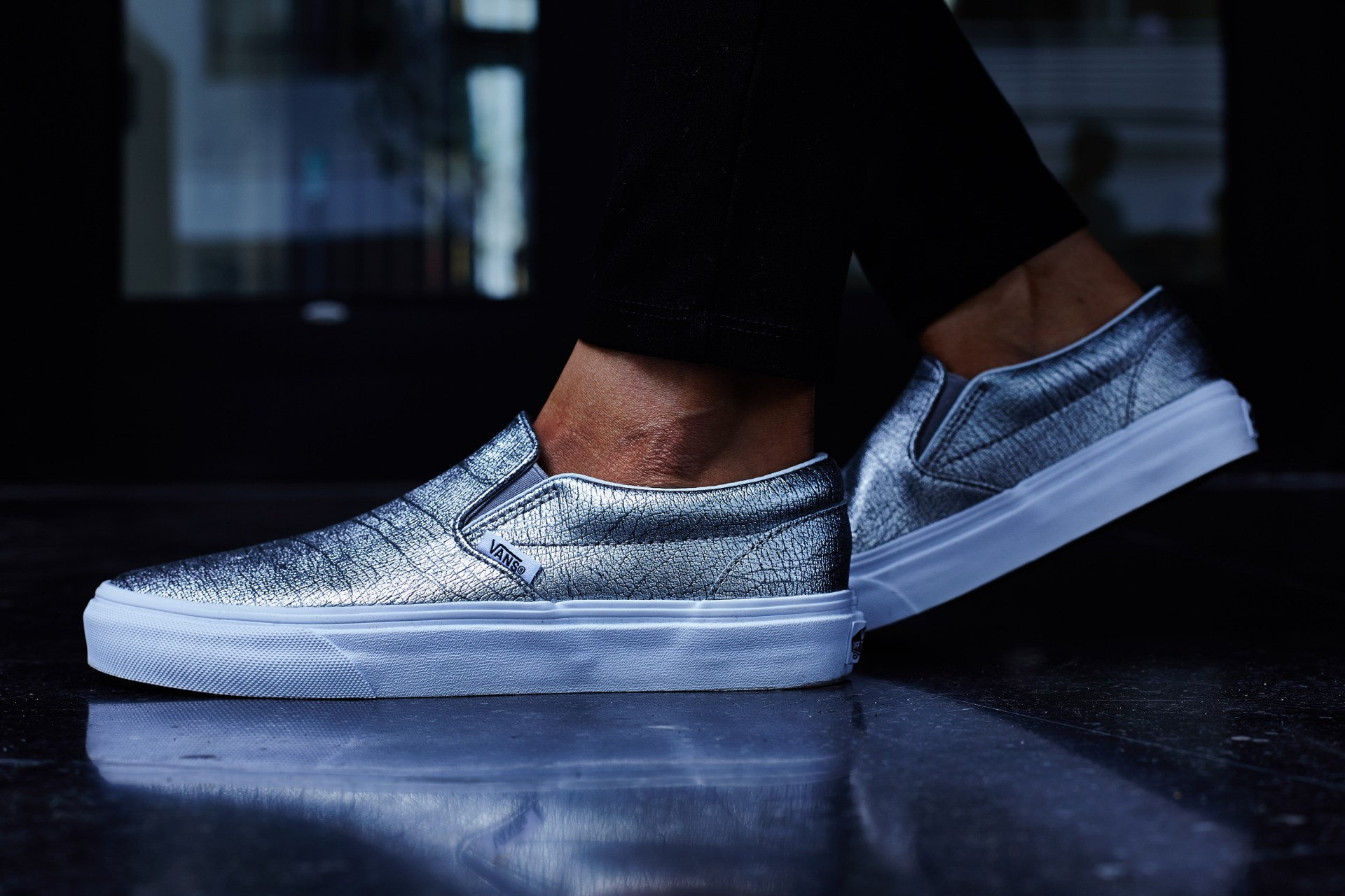 On-Foot Look    Vans Slip-On