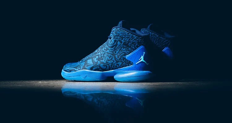 90eec7f467076b The Jordan Super.Fly 4 JCRD Soar Midnight Blue is Available Now