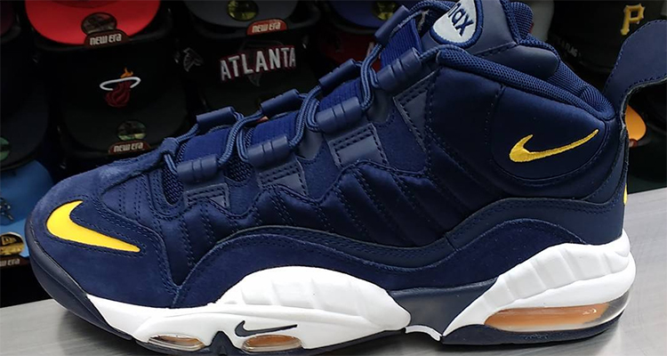 newest collection df47a d64d7 Could This Wolverines-Inspired Nike Air Max Sensation Reunite Chris Webber  and Michigan
