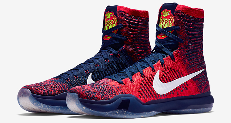 ff73d265724a ... basketball shoe that features a highly breathable mesh Nike Kobe 10  Elite High ...