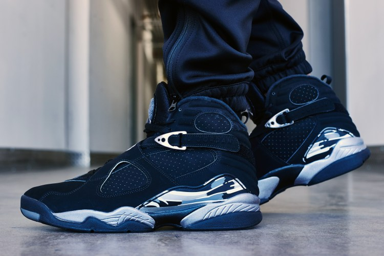 "On-Foot Look    Air Jordan 8 ""Chrome"" a1f25aa49"
