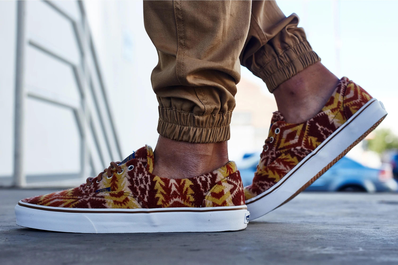 1673c87697 On-Foot Look    Pendleton x Vans Era