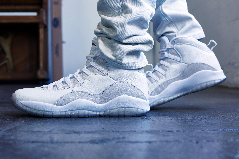 boutique pour vendre cool Air Jordan 10 Ovo Sur Les Pieds images de sortie meilleure vente awDThlOK