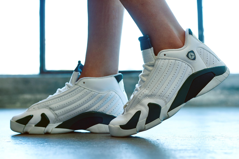 87787a3f9ce On-Foot Look #TBT Edition // Air Jordan 14