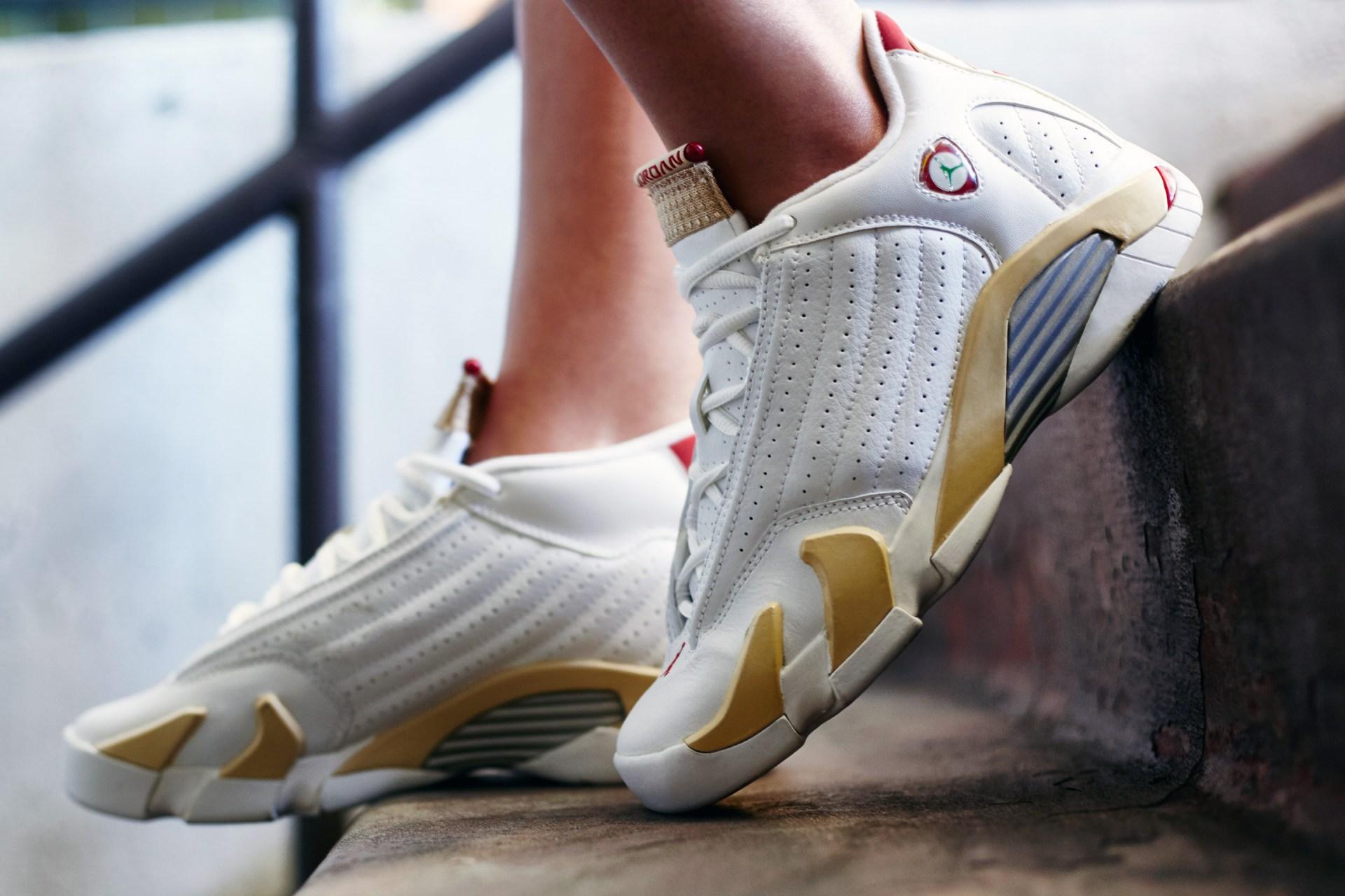 online retailer 7ec12 1093f On-Foot Look // Air Jordan 14