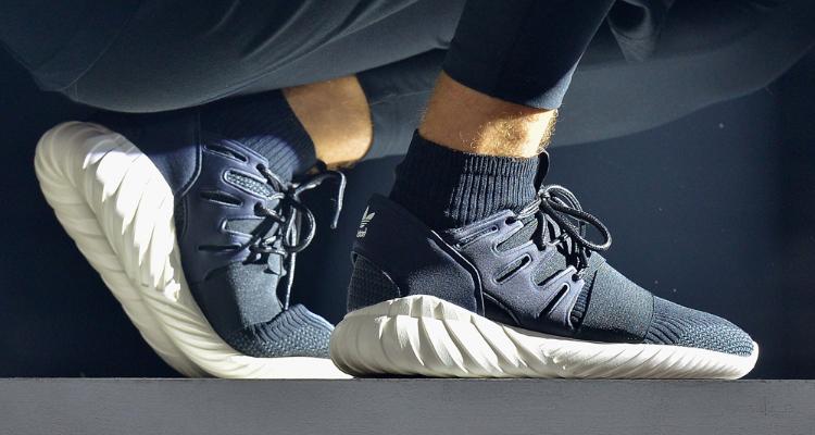 quite nice e89ae 6048f How the Adidas Tubular Doom Looks On-Foot