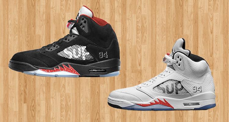 sale retailer 28b21 58db3 Win a Supreme x Air Jordan 5 Prize Pack | Nice Kicks