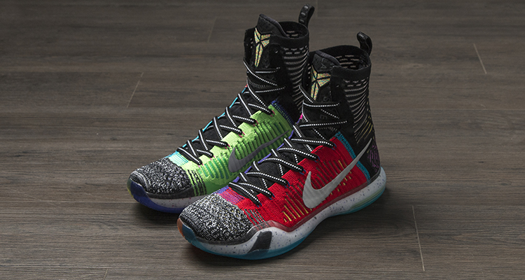 """check out 0b181 344f9 """"What the"""" Nike Kobe 10 Elite High Release Date"""