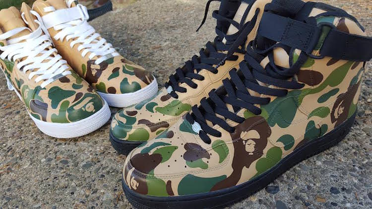 c25faa3dea67 ... discount code for custom sneaker bape nike air force one by  ianjpaintedit nice kicks cb776 2c7fa