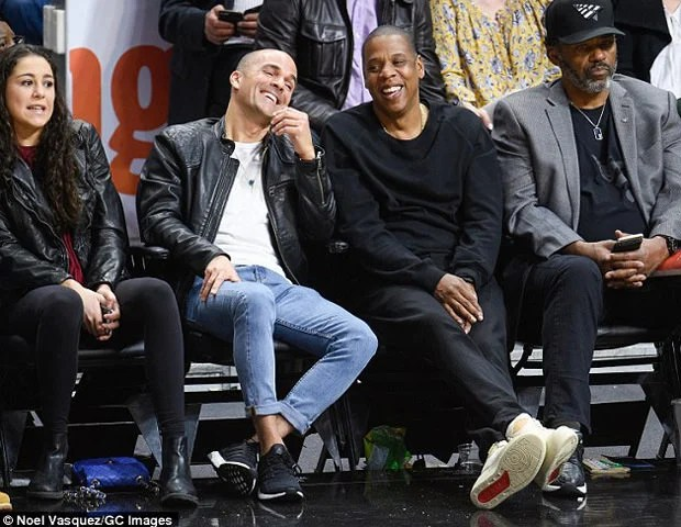 ... Jay-Z in the Just Don x Air Jordan 2