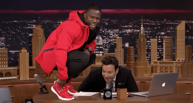 Kevin Hart Nike Shoe