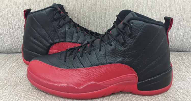 """22520f8b45bcd7 Air Jordan 12 """"Flu Game"""" Shines with Remastered Details"""