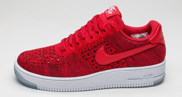 """sports shoes 8e4f9 8559d Nike Air Force 1 Low Ultra Flyknit """"University Red"""" Drops Next Month"""