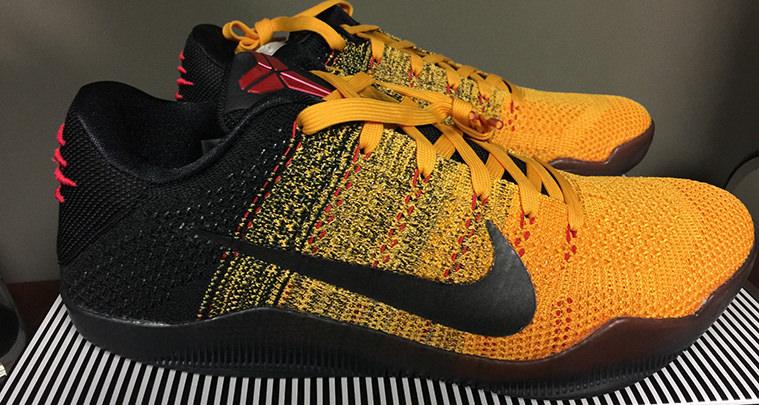 """reputable site 84188 1243d Nike Kobe 11 """"Bruce Lee""""  First Look"""
