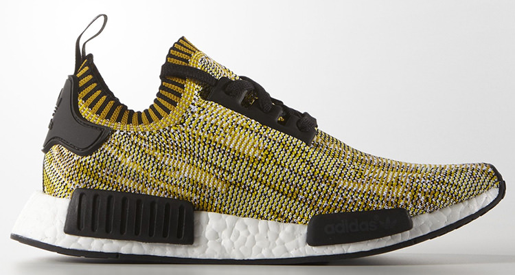 """44509ee99 The adidas NMD R1 Primeknit """"Yellow Camo"""" is Perfect for Spring. Feb 16"""